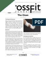 Técnica do Clean Crossfit