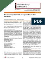 World journal of orthopaedics