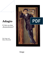 Berg Kammerkonzert Adagio Vln