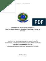 Kit 2 - Governança TIC - Artefato Gerenciamento de Incidentes e Problemas[1]