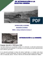 introducción a la minería