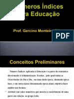 Parte 1 Indices Educacionais Com Tempo Fixo