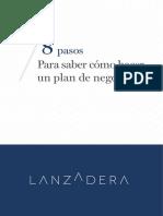 Guia 8 Pasos Para Saber Como Hacer Un Plan de Negocios