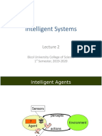 Is-Lecture 2(Intelligent Agents)