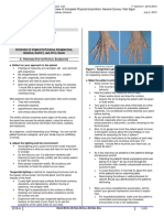 Medicine I 1.03 Overview of Physical Examination