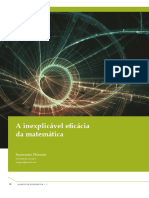 A inexplicável eficácia da Matemática