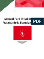 Manual del estudiante en practica