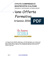 P.O.F. triennale