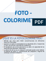 Fotocolimetria