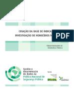 FBSP Criacao Indicadores Investigacao Homicidios Brasil 2012