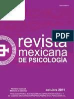 Revista Mexicana Psicologia 2011a