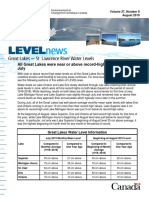 Great Lakes level news