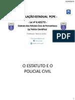 Estatuto do Servidor do Estado de PE