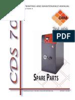 PARTES CIMA CDS707 +300 y +739