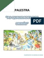 AS QUALIDADES DOS ORIXÁS