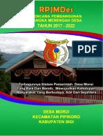 RPJMDes Desa Morui 2017 2022