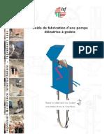 Guide de Fabrication de Pompe Élévatrice à Godets