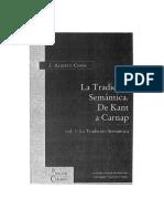Coffa, José Alberto (2005) La Tradición Semántica (2 Vols)