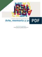 Seminario Politicas Memoria 2017