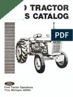 Manual de partes Tractor ford 5000