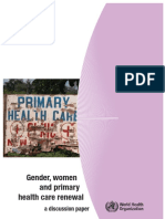 [World Health Organization] Gender, Women and Prim(BookFi)