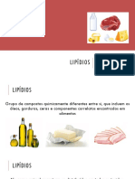 Bioquímica - Aula 5 - Lipídios