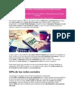 8 KPIs Claves para Medir en Rendimiento de las Redes Sociales.docx