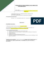 Presupuestos y Requisitos Con Formulario de Nota Para Enviar