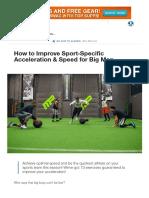 Sport-Specific Speed for Big Men_ Improving Acceleration