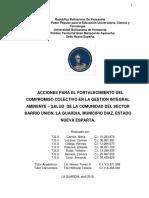 Teg Lic Pfggam Sector Union La Guardia Abril 2019