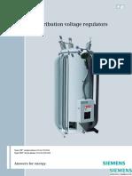 Distribution Voltage Regulator Catalog en LR
