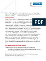 BIODIESEL - Lewatit GF-202 Biodiesel Polishing Resin Technical Notes