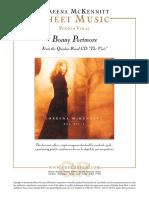 Sheet - Loreena McKennitt - Bonny Portmore