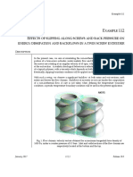 Ex.112 - Effects of Slipping Along Screws and Back Pressure on Energy Dissipation and Backflows in a Twin Screw Extruder