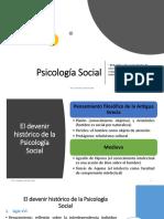 1. Psicología Social Historia