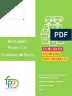 Consultas Bases FPA2019 Escuelas Sustentables