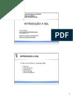 3 - Introducao a SQL(1)