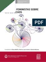 Miradas Feministas de los DD- Jusbaires 2019
