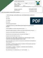 Artes - 8º Ano v. Rosado, Prof. Menezes