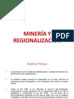 Minería y Regionalización