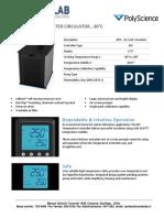 Especificacion Ba{o 15 Litros Polyscience, Mundolab