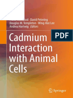 Cadmium Interaction with Animal Cells
