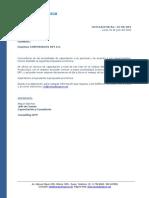 Consultingscm - Cotizacion Corporacion Rey 22.07.2019