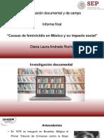 Causas de Feminicidio en México y Su Impacto Social
