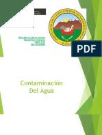 2.- Contaminación Del Agua