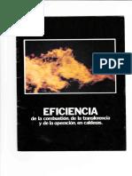 EFICIENCIA de La Combustion en Calderas