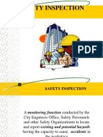 lecture safety inspection