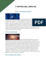 Las Cuatro Partes Del Libro de Urantia