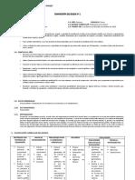 Guía Para La Planificación de Bloques Matematicas 10 Año