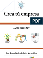 Crea Tu Empresa.- Miguel Ixtepan Cortes Ige